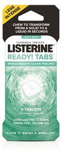 Picture of LISTERINE® READY! TABS Soft Mint 36-8pks/cs (288 tabs)